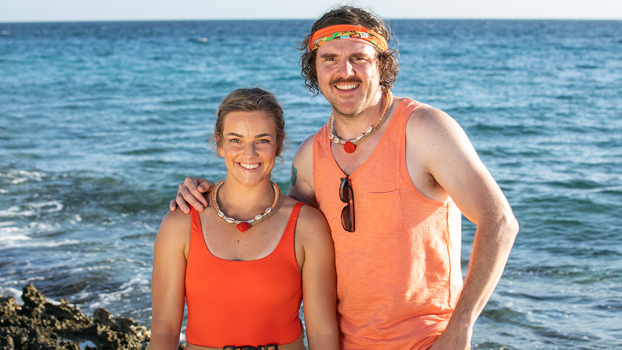 Bouwer Bosch and Janeske Rademan first team to be eliminated from Tropika Island of Treasure Curaçao