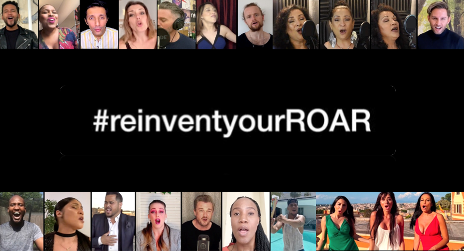 #ReInventYourRoar – We Will Return to Our Stages